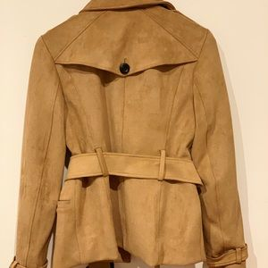 NY&CO suede tan short jacket